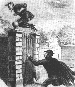 Spring Heeled Jack Liverpool Not Just Collective Art